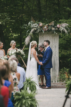 Bohemian Chic Wed - Chatfield Hollow