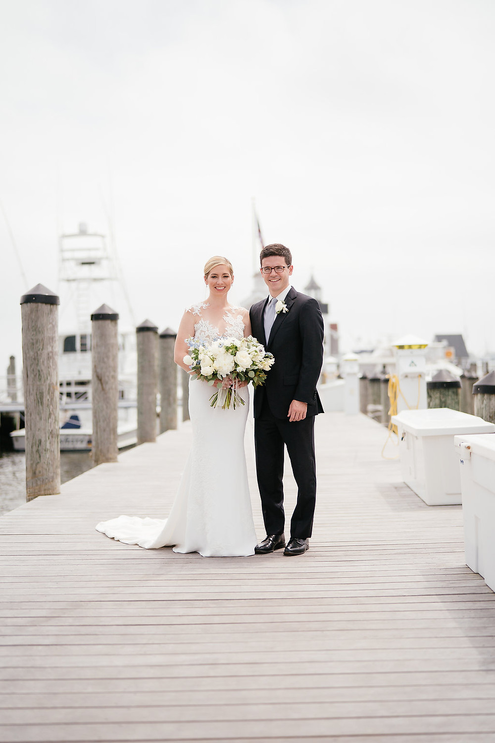 Groom and Bride at Saybrook Point Inn & Spa
