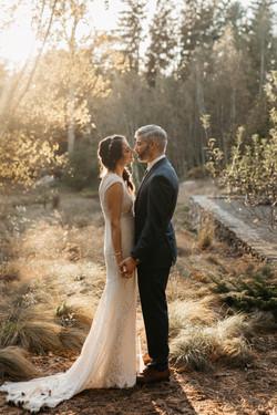 Stylish Enchanted Forest Wedding