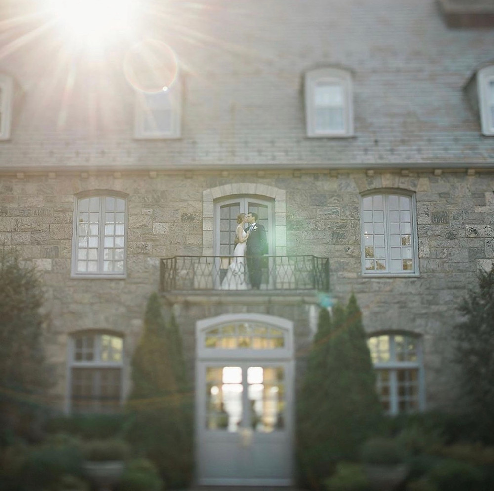 Summer wedding at the Wainewight House