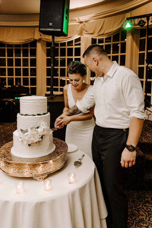 Wedding at The Inn at Longshore