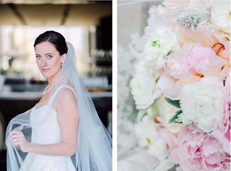 NY Style Classic Peony Wedding | Wedding bouquet
