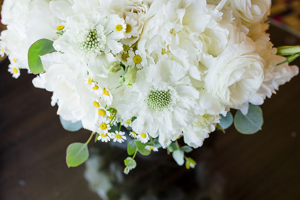 Gaden style wedding bouquet at Foxwoods