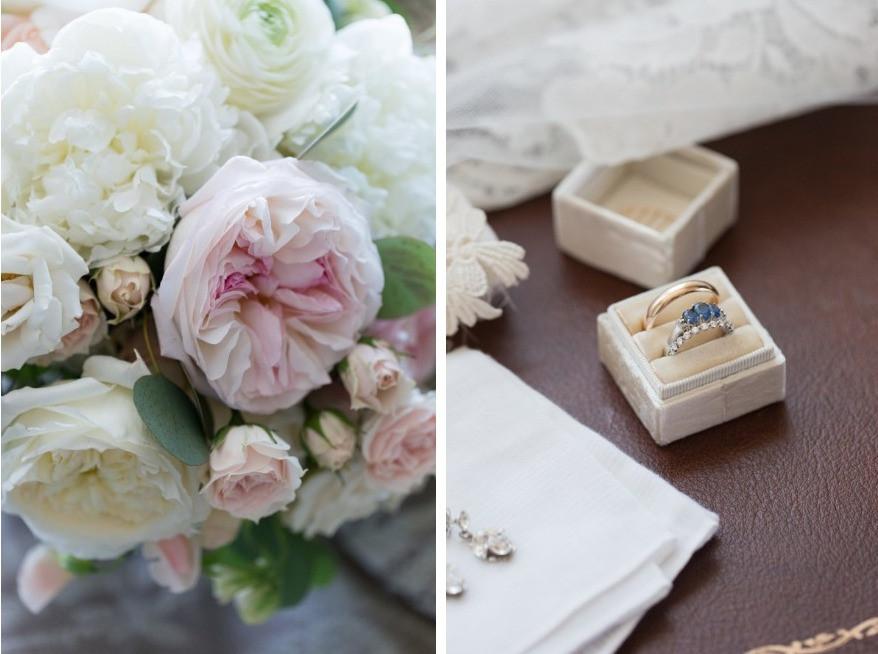 Bouquet & Wedding rings