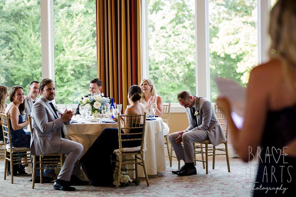 Wedding receptions at Lakes of Isles