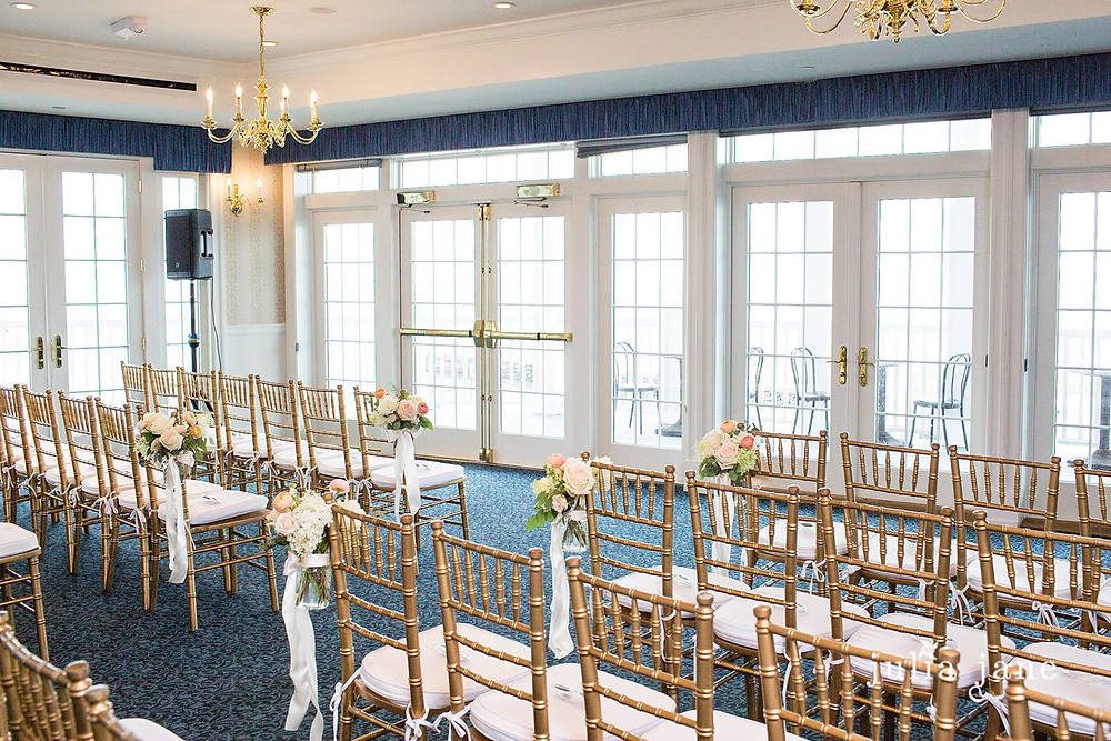 Wedding ceremony at Madison Beach Hotel