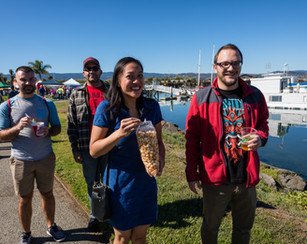 Food and Beer at PortFest 2019