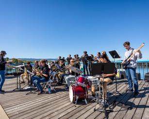 Live Band on the Port at PortFest 2019