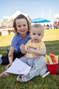 Siblings Enjoying PortFest 2019