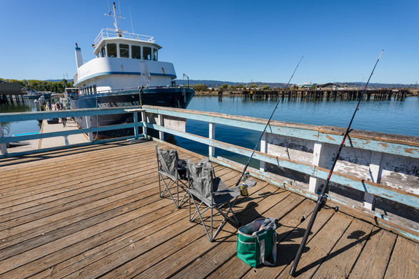 The Marine Science Institute Boat Docked