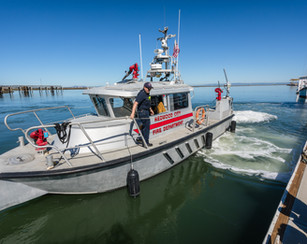 Redwood City Fire Department Docking ont