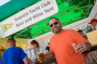 Sequoia Yacht Club Beer and Wine Tent at