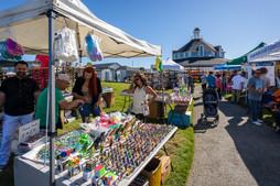 Handmade Toy Tent at PortFest 2019