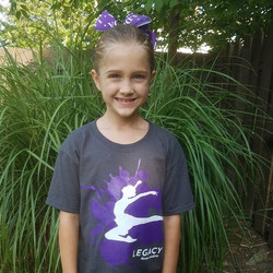 One of our tiny dancers!