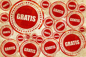 gratis, red stamp on a grunge paper texture.jpg