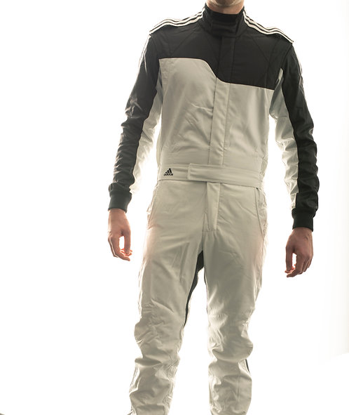 adidas RS ClimaLite® Race Suit Silver/Black