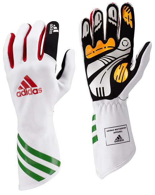 adidas Kart XLT Glove White/Red/Green