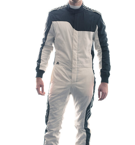adidas RSR ClimaCool® Race Suit White/Black