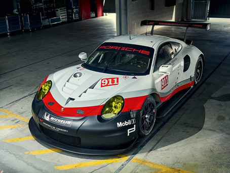 New 911 RSR for Le Mans