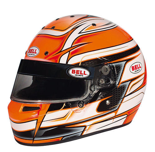 Bell KC7-CMR Kart Helmet Venom Orange