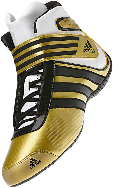 adidas Child XLT Kart Boot Metallic Gold/Black/ Running White