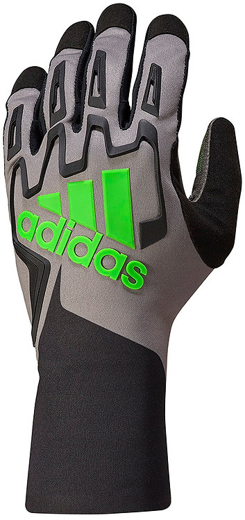 adidas Child RSK Kart Glove Black/Graphite/Fluo Green