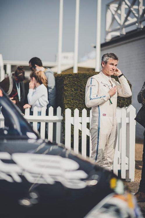 Fyshe Classic Race Suit White/Blue