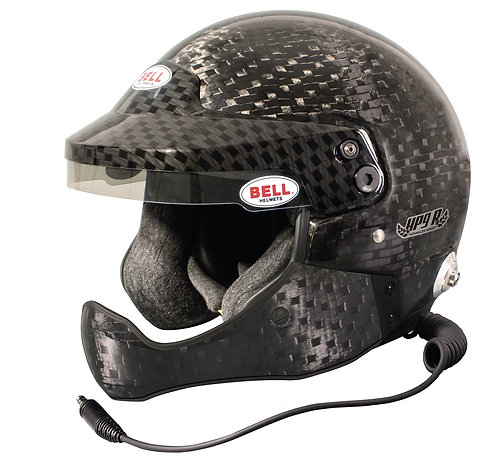 Bell HP9 Rally Intercom Open Face Carbon Helmet