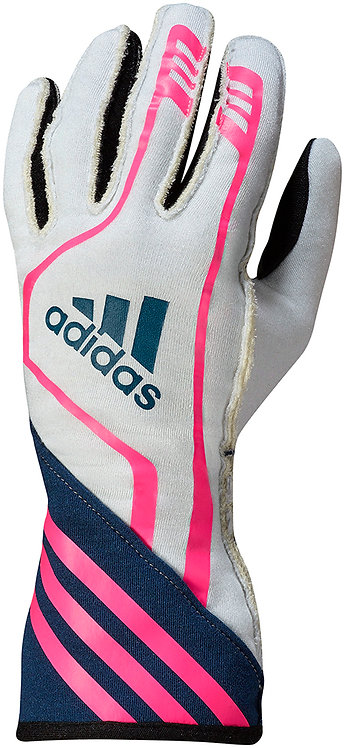 adidas RSR Gloves White/Navy/Fluo Pink