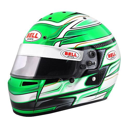 Bell KC7-CMR Kart Helmet Venom Green