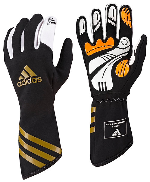 adidas Kart XLT Glove Black/Metallic Gold