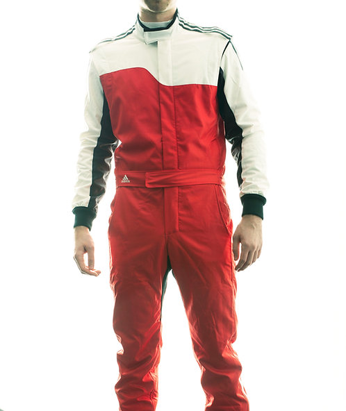 adidas RS ClimaLite® Race Suit Red/White