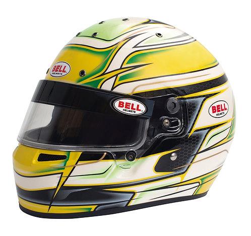 Bell KC7-CMR Kart Helmet Venom Yellow