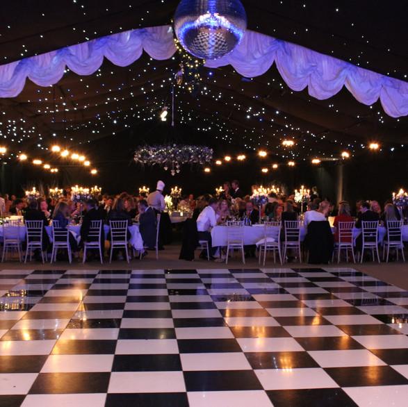 Black & White Dance Floor,