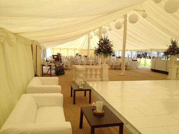 Traditional Marquee Wedding Lincolnshire
