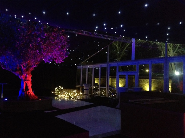 Glass Marquee and Starlight