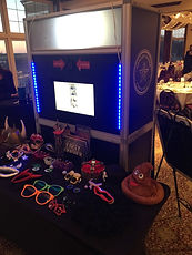Dallas Photo booth with props