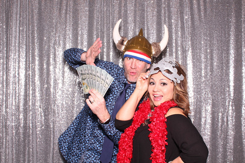 Corporate event with photo booth