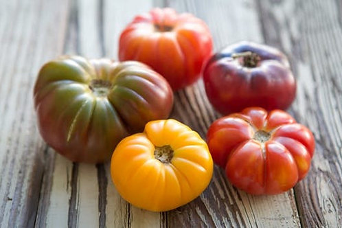 Heirloom Tomato Mix (1 lb) (check at pickup)