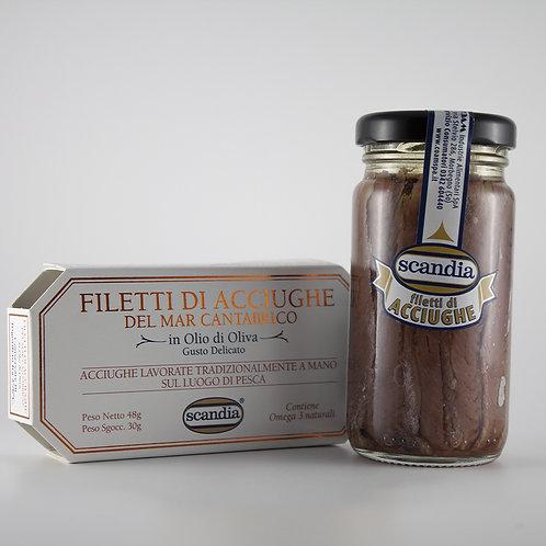 Filetti di Alici del Mar Cantabrico 50 ml/106 ml