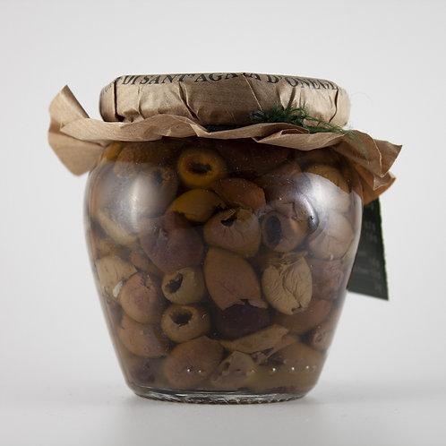 Olive taggiasche in olio EVO 180g