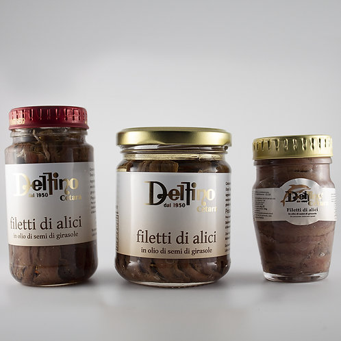 Filetti d'Alici di Cetara 80g/130g/180g