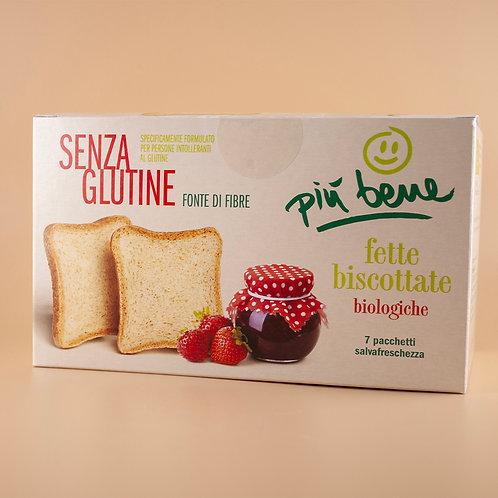 Fette biscottate Senza Glutine Bio 182g