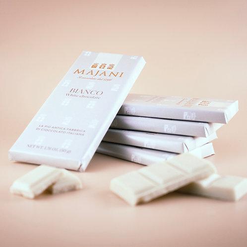 Tavoletta di Cioccolato Bianco 50g
