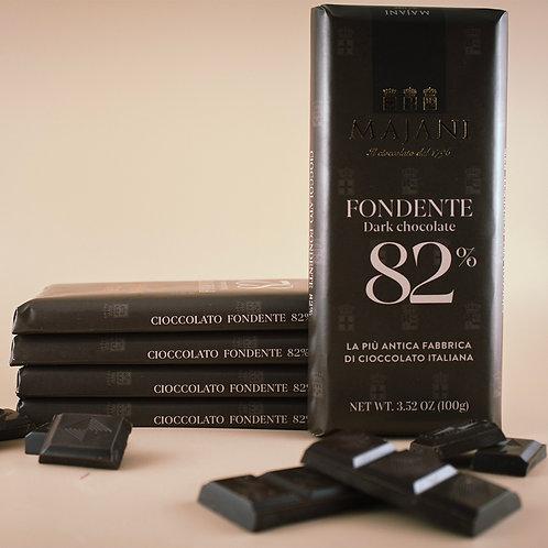 Tavoletta di Cioccolato Fondente 82% 100g