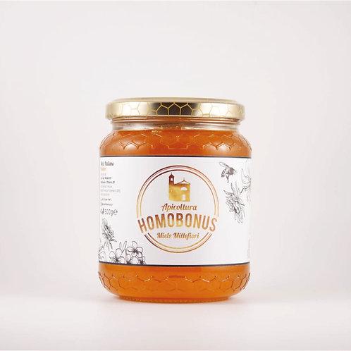 Miele Mille fiori Homobonus Cremona 500g