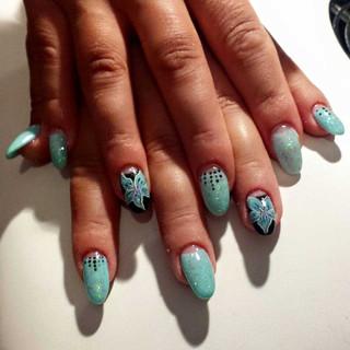 manicure con semipermanente centro estet