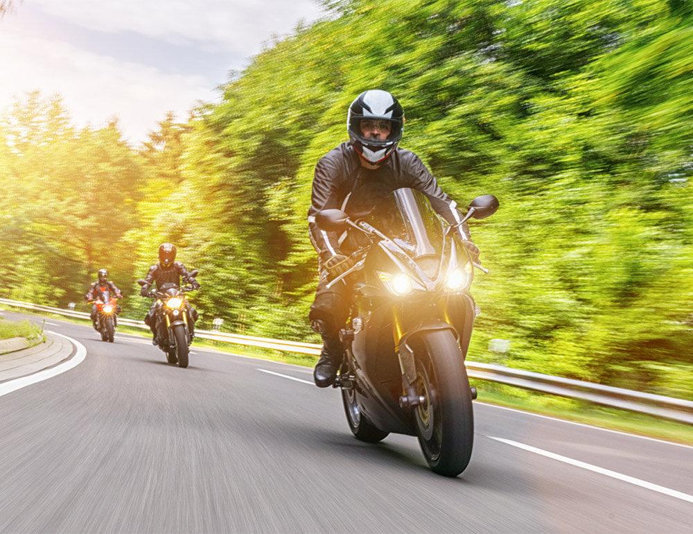 Motorrad Fahrstunde 135 Minuten