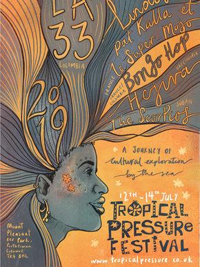 Tropical Pressure Artwork 2019