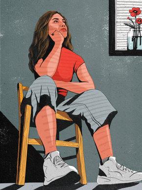 Isolation Self-Portrait